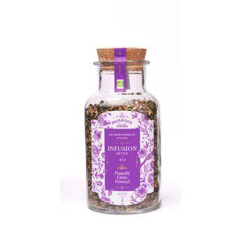Achat en ligne Infusion bio detox vrac pissenlit/ortie/fenouil 50gr - Provence d'Antan
