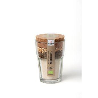 Achat en ligne Mélange bio pour mojito en verre à mojito 180g - Quai Sud