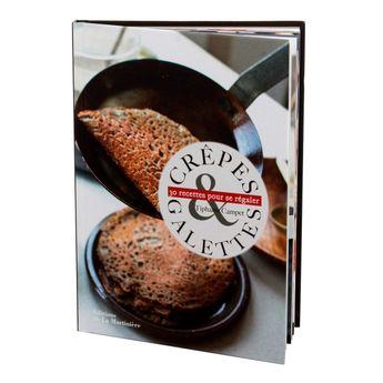 Achat en ligne Crêpes et galettes - 30 recettes pour se régaler - La Martiniere