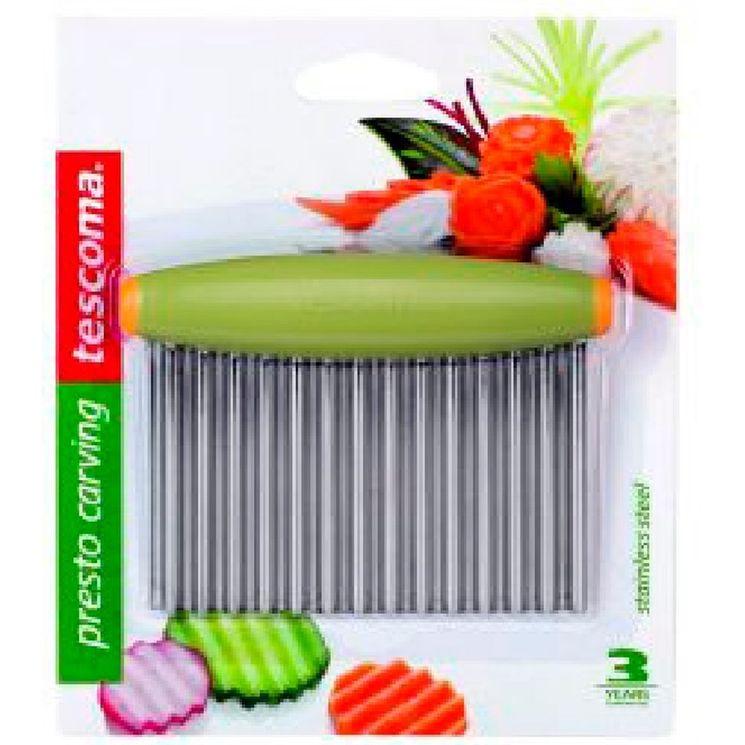 Coupe légumes lames ondulées Presto - Tescoma
