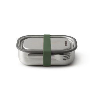 Achat en ligne Lunch box en inox 1L olive - Black & Blum