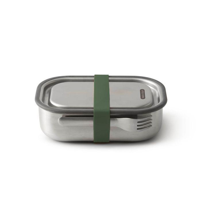 Lunch box en inox 1L olive - Black & Blum
