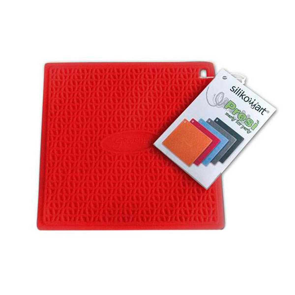 Manique en silicone rouge - Silikomart