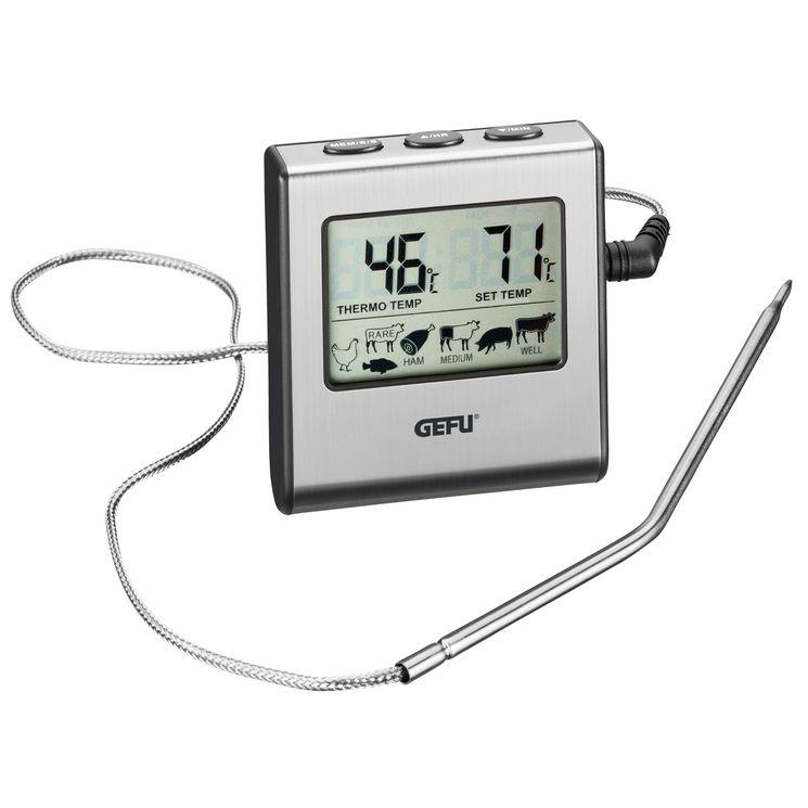 Thermomètre avec sonde numérique - Gefu