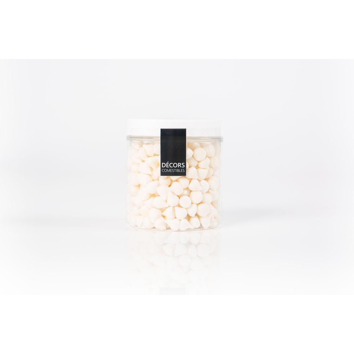 Pot de mini meringues blanches 100gr