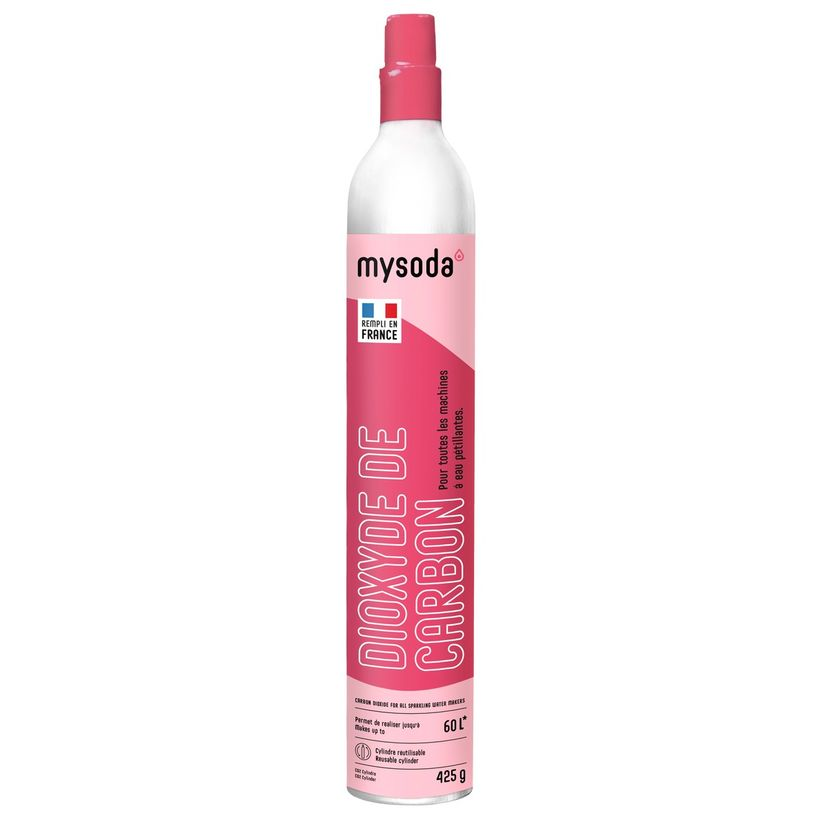 Cylindre supplémentaire CO2 60L - Mysoda