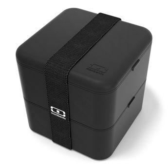 Achat en ligne Bento carré noire 1.7L MB square onyx - Monbento