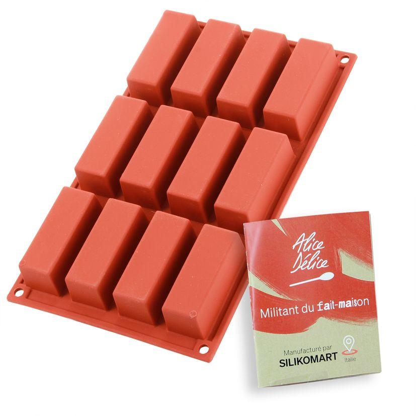 Moule en silicone 12 mini-cakes - Alice Délice