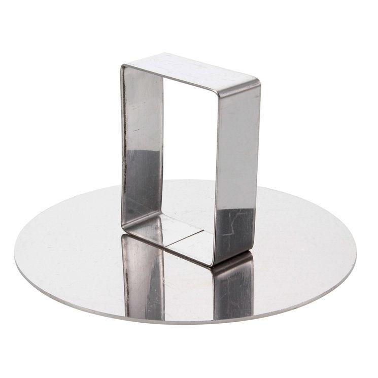 Poussoir en inox pour cercle 9 cm - Alice Délice