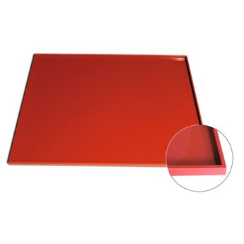 Achat en ligne Tapis de cuisson rectangulaire à rebord en silicone pour génoise 42 x 35 cm - Alice Délice