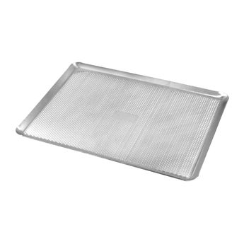 Achat en ligne Plaque de cuisson perforée en aluminium 40 x 30 cm - Alice Délice