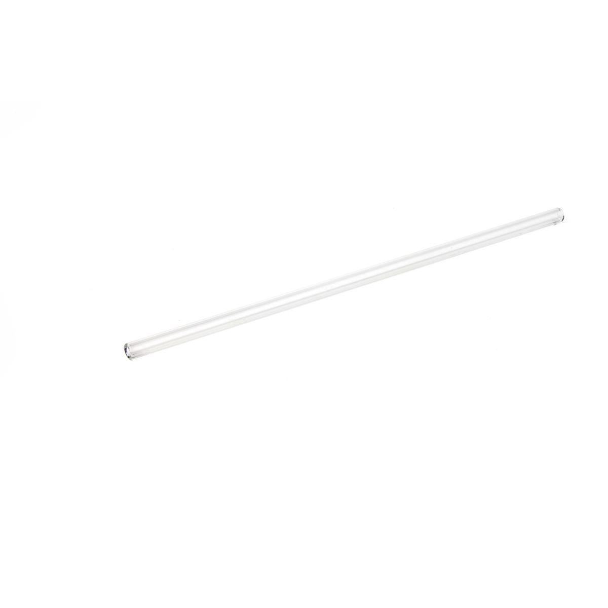 Paille en verre droite à l´unité 26.5 cm - Quai Sud