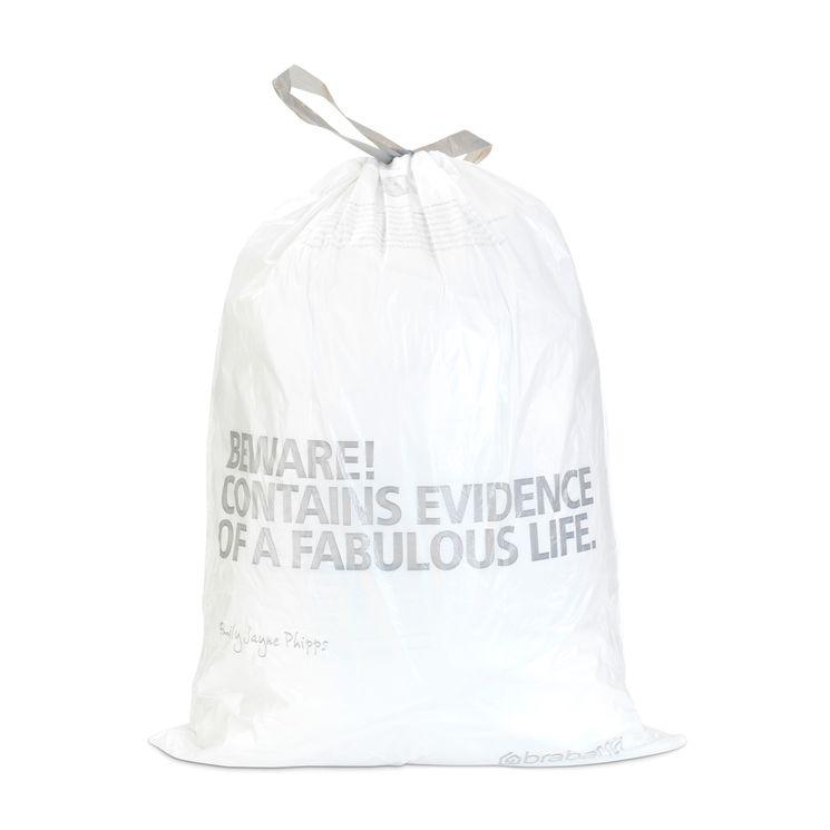 10 sacs-poubelle 50-60l - Brabantia