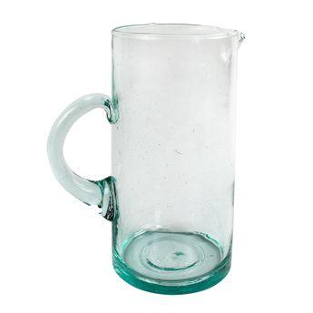 Achat en ligne Carafe en verre recyclé 1.1L - Beldi