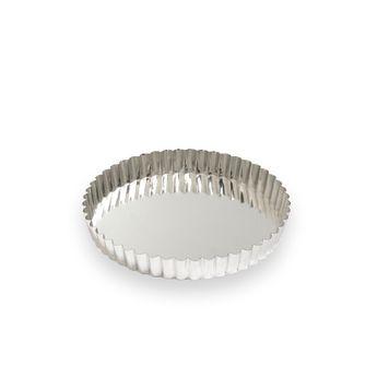 Achat en ligne Moule à tarte fer blanc 4/6 parts 20 cm - Alice Délice