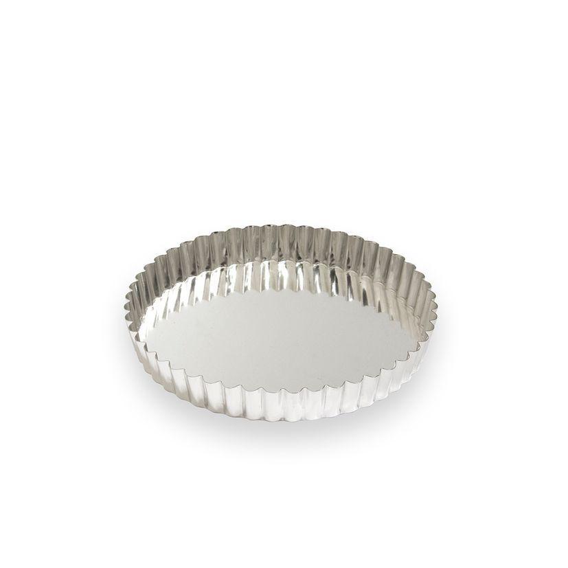 Moule à tarte fer blanc 4/6 parts 20 cm - Alice Délice
