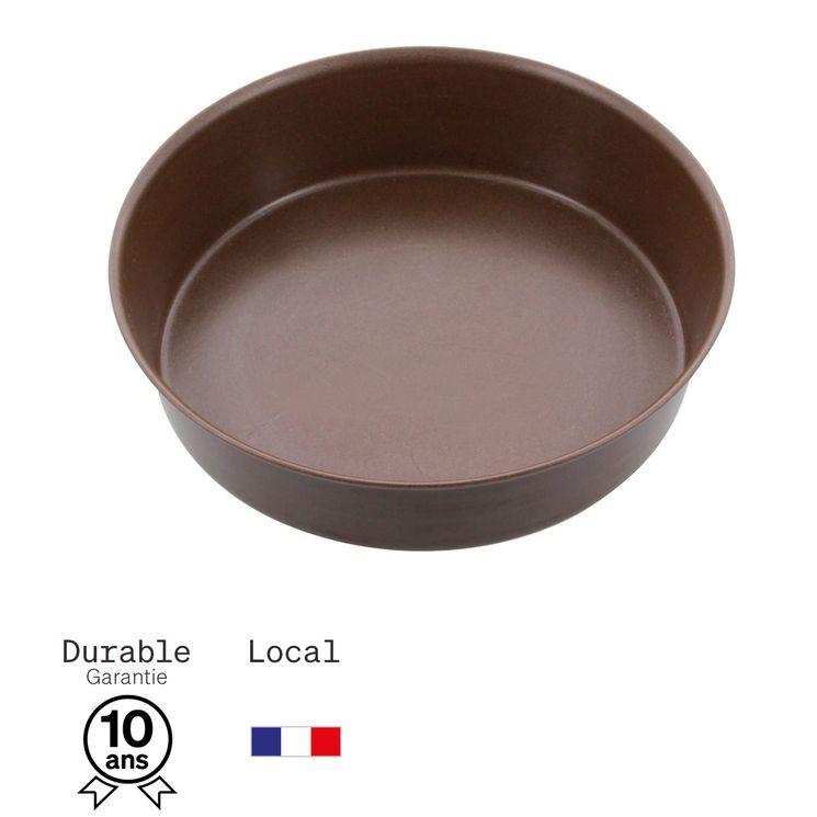 Moule à manqué en métal anti adhérent 4 parts 16 cm - Alice Délice