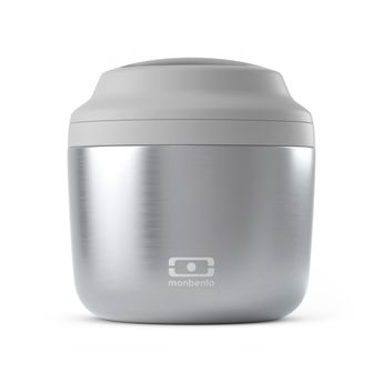 Achat en ligne Bento isotherme 550 ml MB Element Silver - Monbento