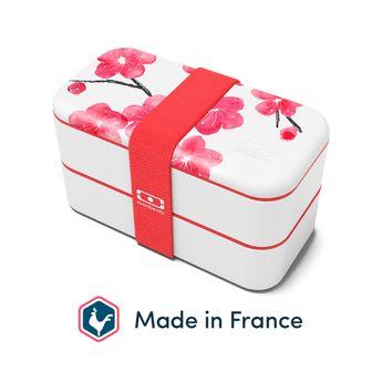 Achat en ligne Bento MB original graphic Blossom 1L 9.4 x 10 x 18.5 cm - Monbento