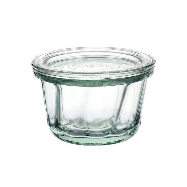 Pot miniature forme Ring Cake avec clip et joint 165ml - Weck