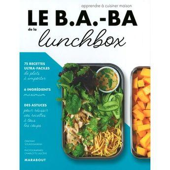 Achat en ligne Le B.A.-BA de la cuisine - Lunch box - Marabout