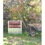 Composteur de jardin 200L bois acier galvanisé - Guillouard
