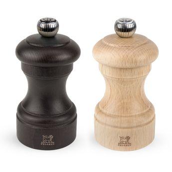 Achat en ligne Duo moulin sel et poivre Bistro 10 cm en hêtre naturel - Peugeot