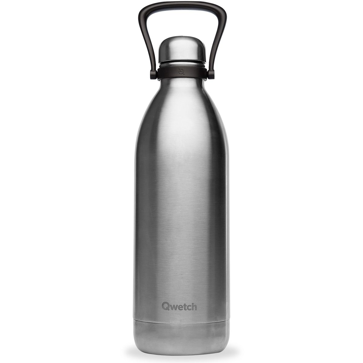 Bouteille isotherme inox brossé - 2000ml - Qwetch