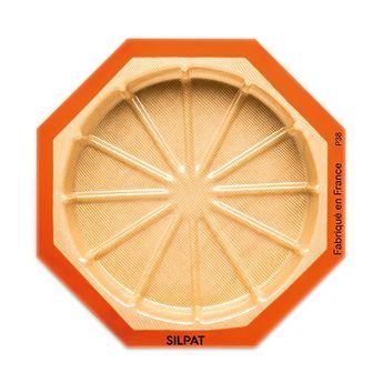 Achat en ligne Moule rond 12 portions en silicone et fibre de verre 45 x 31 cm - Silpat