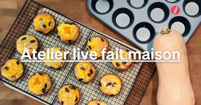 Faire ses muffins butternut maison