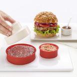 Presse à steak double pour hamburger anti-adhésive - Lékué