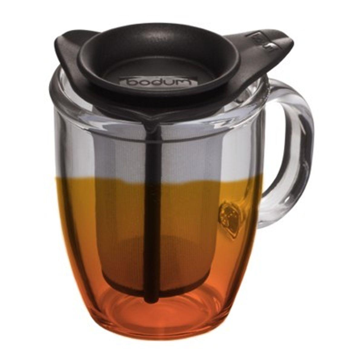 Mug Infuseur Thé : mug verre avec infuseur a the yoyo bodum alice d lice ~ Teatrodelosmanantiales.com Idées de Décoration