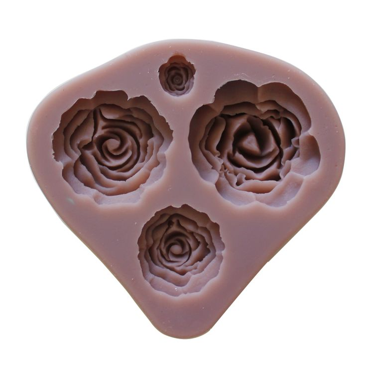 MOULE PATE A SUCRE - ROSES - ALICE DELICE