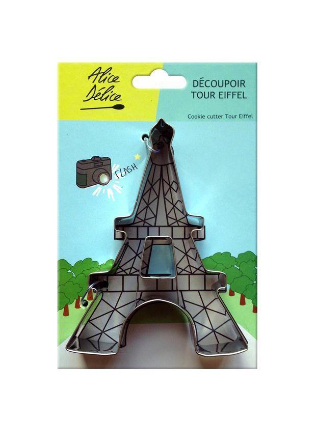 Découpoir inox Tour Eiffel - Alice Délice