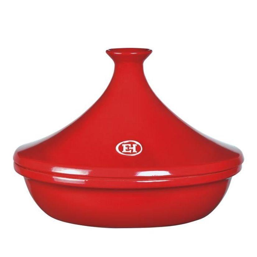 Tajine céramique Flame 32 cm rouge - Emile Henry