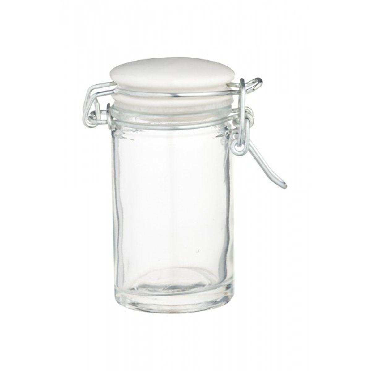 Bocal de conservation en verre pour épices 100ml - Home Made