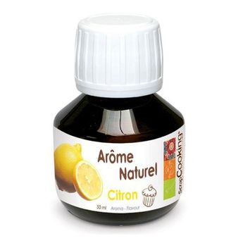AROME NATUREL DE CITRON 50ML - SCRAPCOOKING